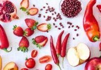 frutta e verdura rossa per la salute
